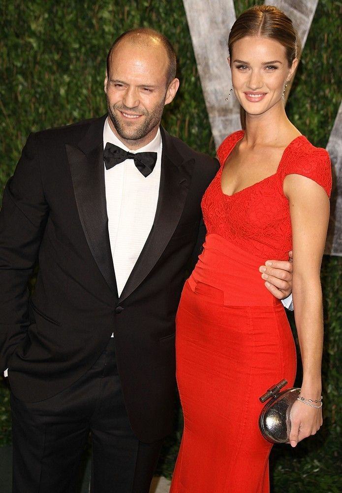 Jason Statham And His Wife With