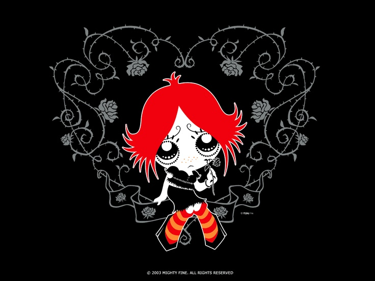 95 Best Ruby Gloom Images On Pinterest