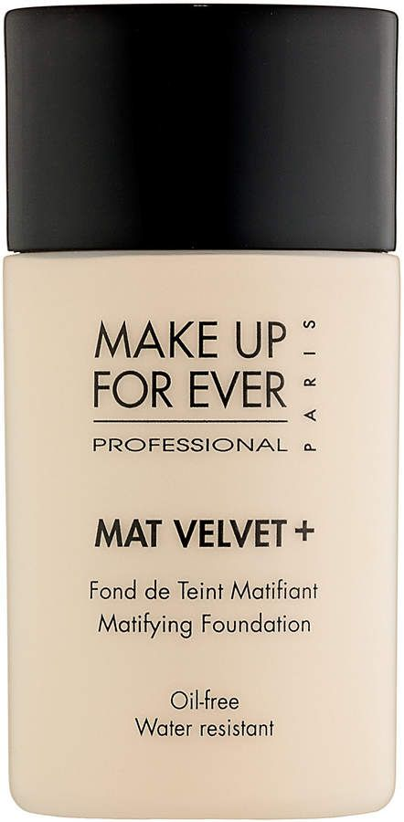 The Set is also good to get because it comes with everything! Make Up For Ever Mat Velvet + Mattifying Foundation (Affiliate Link)