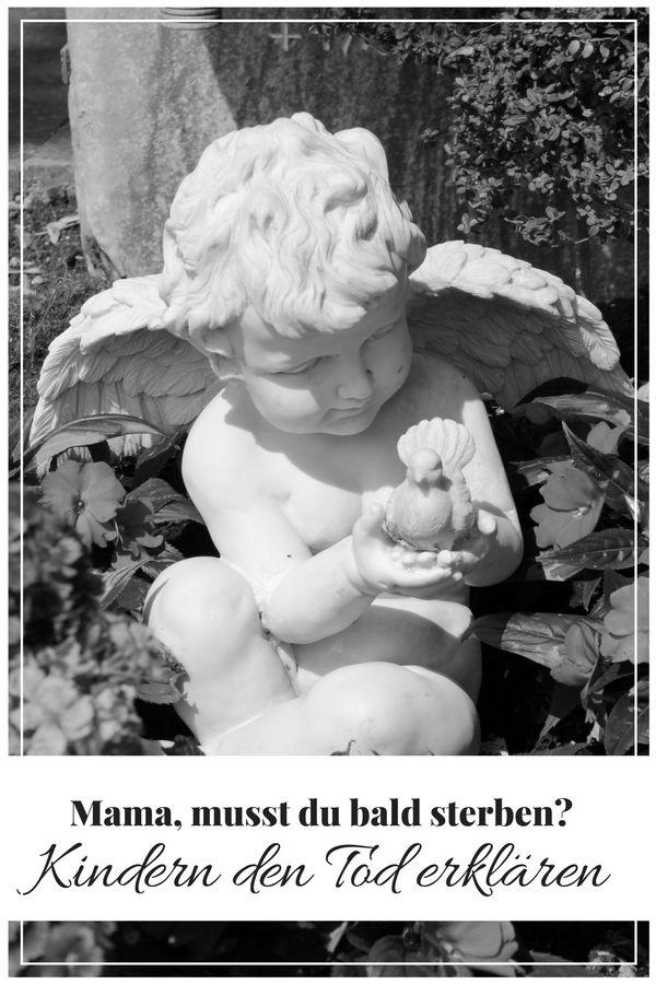 Kinder fragen einem oft Löcher in den Bauch. Manchmal fällt einem erst mal die Kinnlade runter und man weiß nicht genau wie man reagieren soll. IMMER wichtig ist jedoch, sein Kind ernst zu nehmen und die Wahrheit zu sagen. Wie du deinem Kind den Tod erklären kannst, habe ich aufgeschrieben....