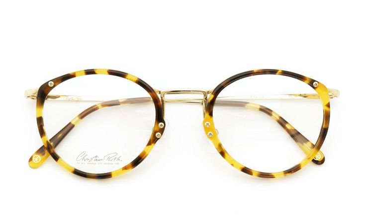 Christian Roth [CR F-09 C-3 tortoise/gold] | optician | ponmegane