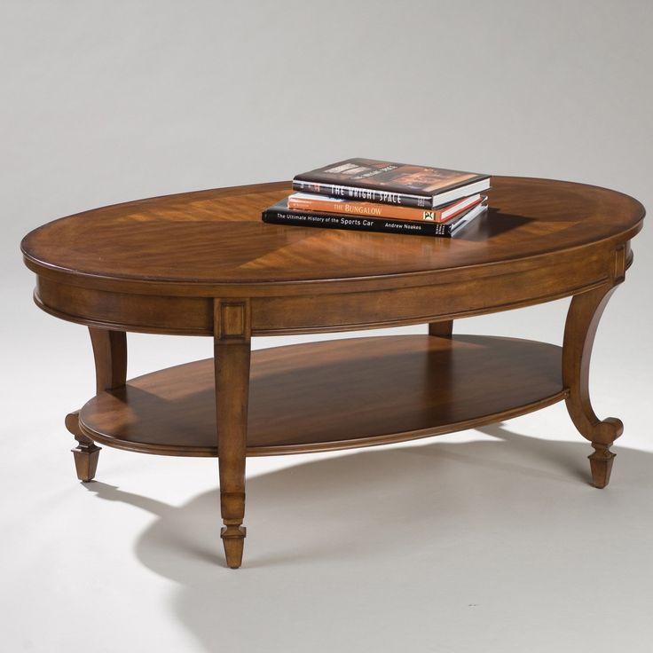 Chesterfield Sofa Magnussen T Aidan Wood Oval Coffee Table