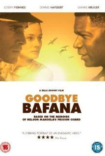 GOODBYE BAFANA is the true story of a white South African racist whose life was profoundly altered by the black prisoner he guarded for twenty years. The prisoner's name was Nelson Mandela.