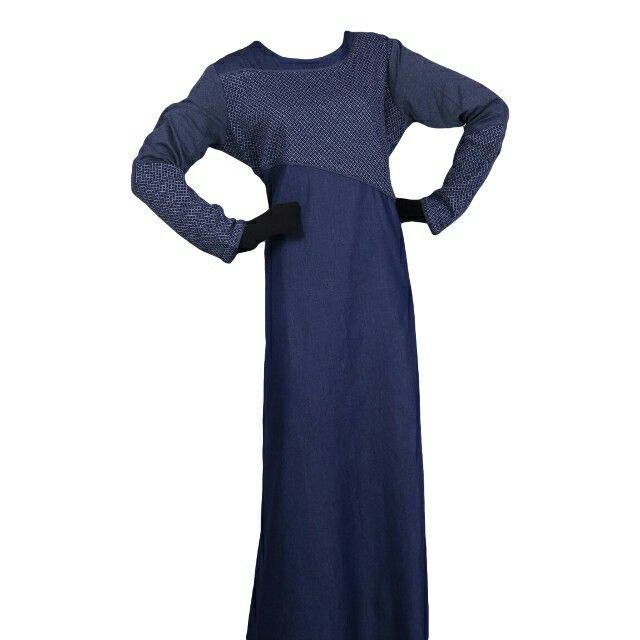 EID ul Adha Women's Sports Abaya Collection #12 Design Nº: 0357 Available Size: 54 to 60, R, L & XL Available Color's: Denim Blue Fabric: T.R. Twill Price From: 625.00 ZAR