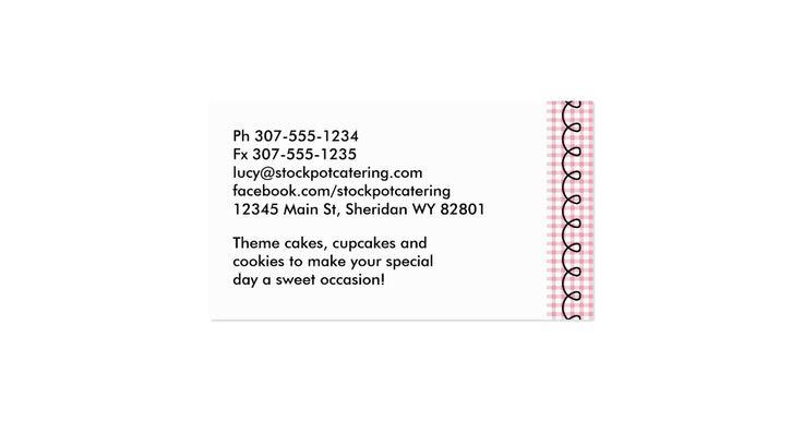 """Misturador retro bonito super do suporte do estilo ou misturador elétrico no guingão cor-de-rosa e cartões de visitas pretos, """"da cozinha"""" da comida ou as etiquetas e as etiquetas da padaria, as pastas da receita, os cartões da receita e o mais para o cozinheiro chefe pessoal, o cozimento do bolo, a padaria, o padeiro do biscoito e do cupcake, o fornecedor ou a restauração e a outros comida, cozinhar ou profissionais e passatempos culinários."""