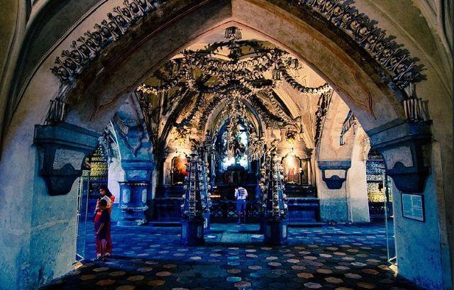 Selec Ossuary (Bone Church), Prague