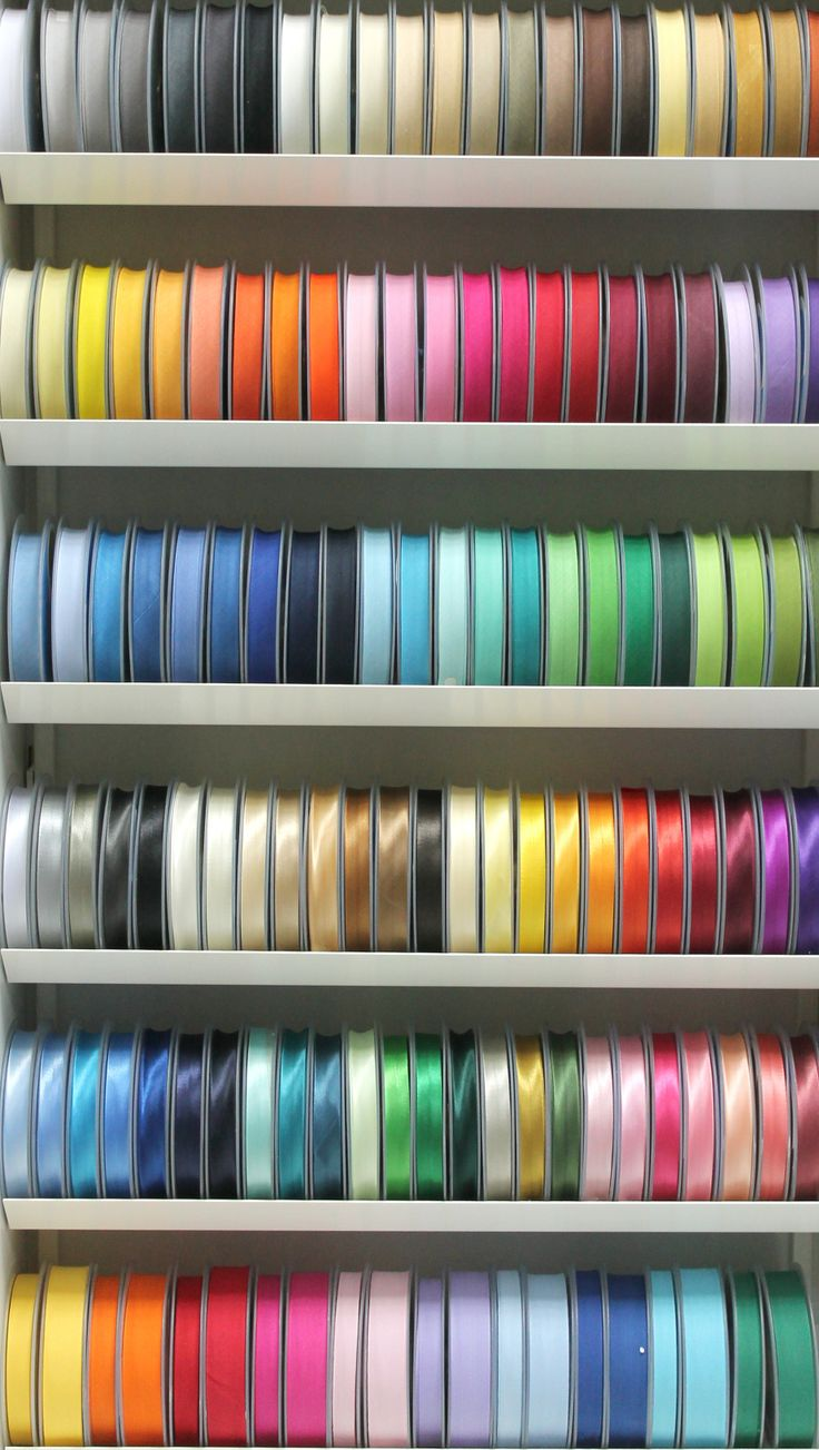 All the colours of Ribbons!!