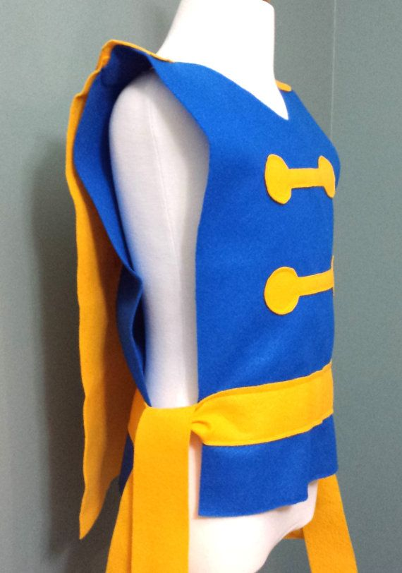 Our adorable Beast Costume Tunic is perfect for your knight in shining armor…
