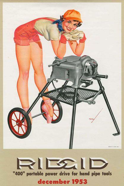 Ridge Tools (1953) by George Petty