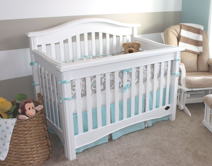 New Arrivals Picket Fence Baby Bedding