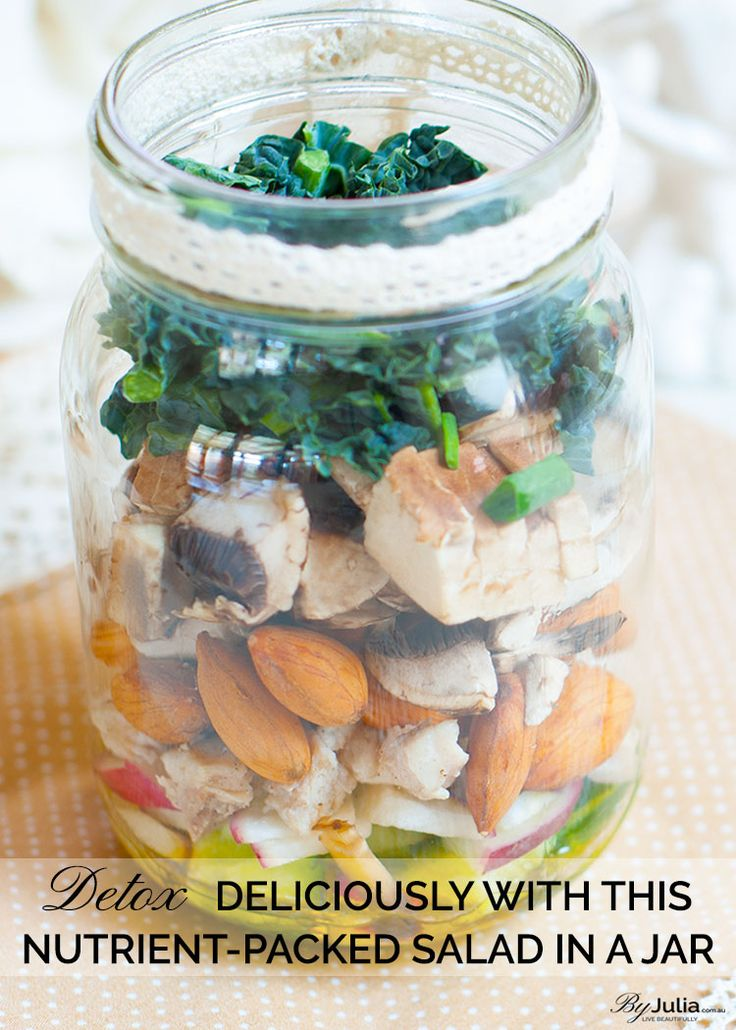 Detox Deliciously With This Nutrient-packed Salad In A Jar  ByJulia.com.au ~ Live Beautifully