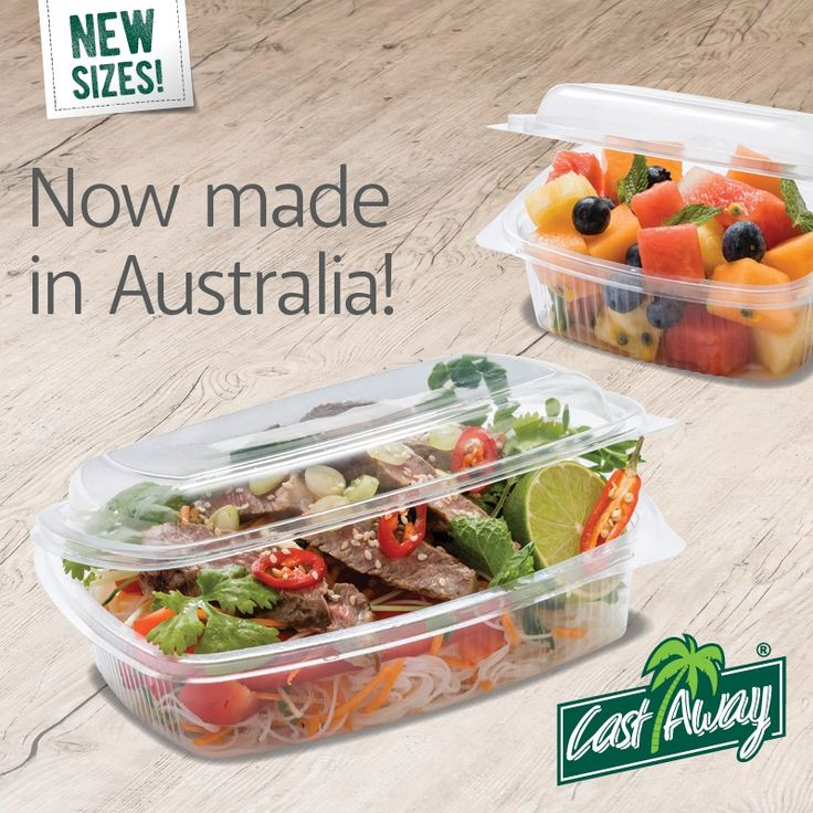 For delis and restaurants offering takeout food, you need a container that's designed for superior presentation and extended shelf life. Bettaseal® Food Containers are made from recyclable P.E.T. with Eco-Smart® biodegrading technology. Proudly made in Australia!