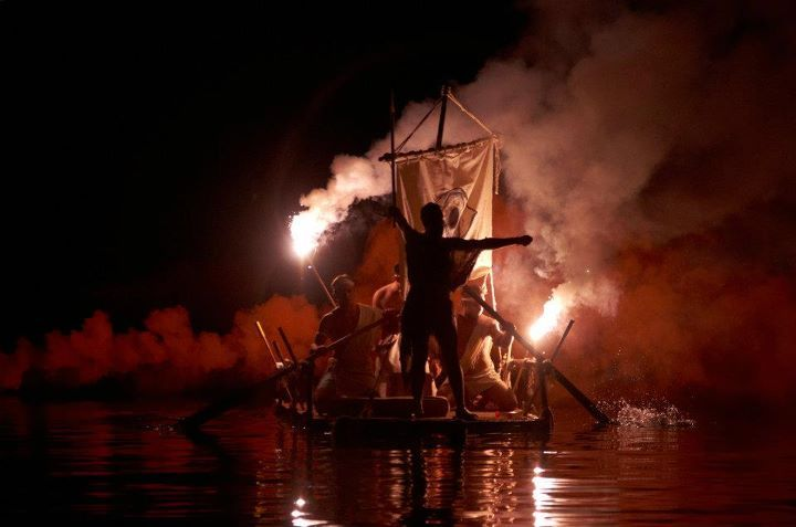 One of the greatest events during the summer in Corfu Island is Varkarola of Palaiokastritsa. #corfudiary