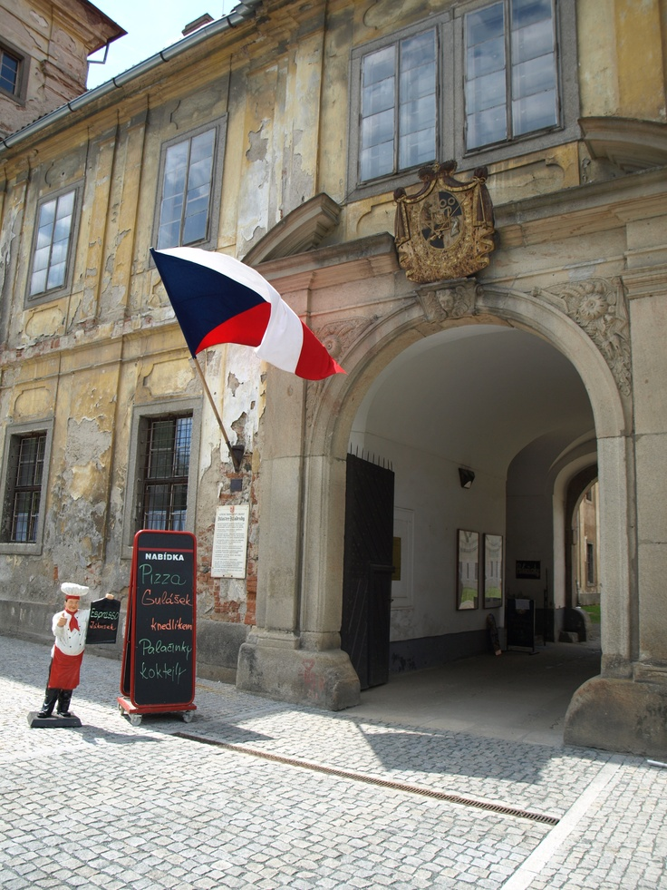 Benedictine Monastery Kladruby (near Pilsen) - entry