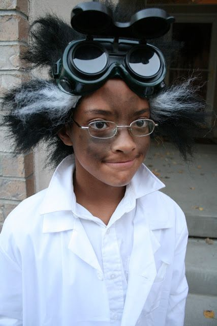 Verrückter Wissenschaftler Kostüm selber machen | Kostüm-Idee zu Karneval, Halloween & Fasching