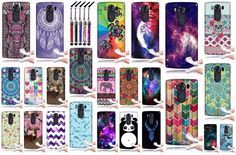 New LG V10 TPU Silicone Rubber Skin Unique Design Cover Case + Mini Crystal Pen #NextKin