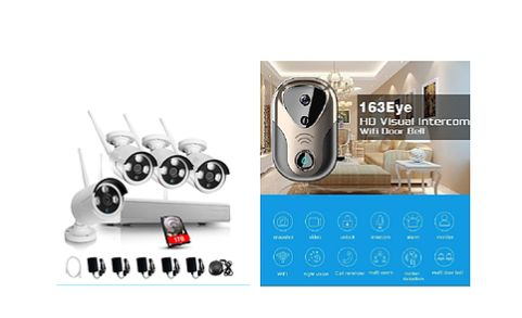 2 x Video doorbells + 4 x 960P Wi-Fi security cameras & NVR pack https://www.gunnedahsecurityservice.com/video-door-bell-security-camera-kit