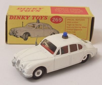 Picture Gallery For : #269 Jaguar Motorway Police - Toymart Price Guide