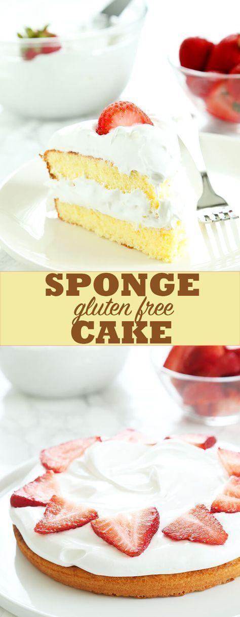 Gluten Free Sponge Cake