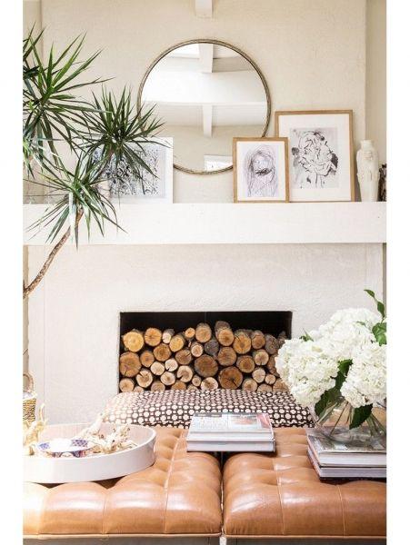 Die besten 25+ Mantel spiegel Ideen auf Pinterest Paris - deko wandspiegel wohnzimmer