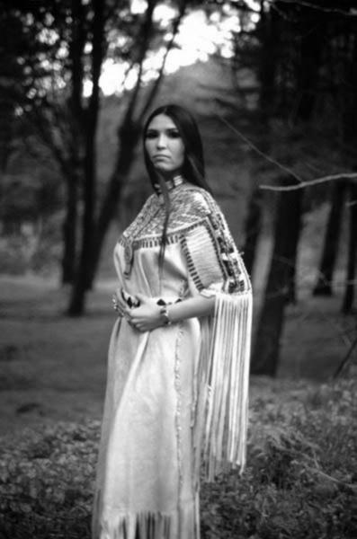 Sacheen Littlefeather (Apache, Yaqui, Pueblo).
