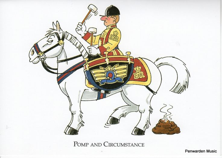 Joan Butler Classics Greeting Card - Pomp and Circumstance