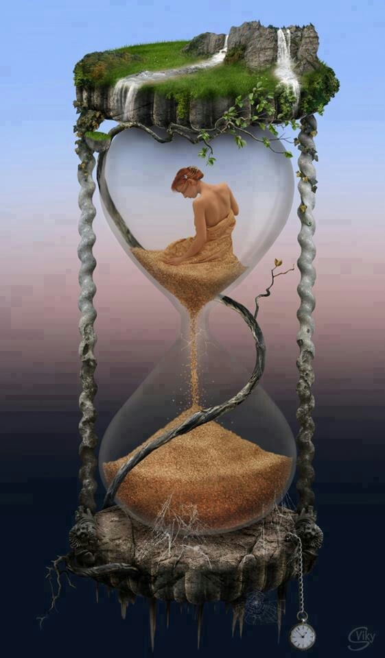Image result for time fantasy hourglass
