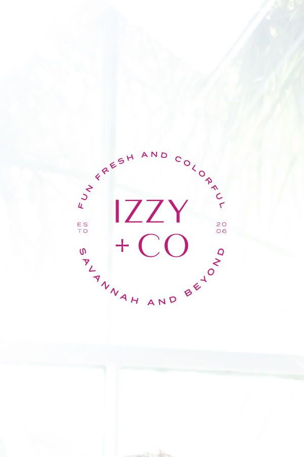 This Logo And Branding Was Crafted For Izzy Co A Local Athens Georgia Photographer Iz Branding Design Logo Boutique Graphic Design Branding Website Design