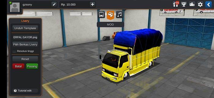 Truck Ragasa Full Anim Strobo Di 2021 Terpal Konsep Mobil Kendaraan