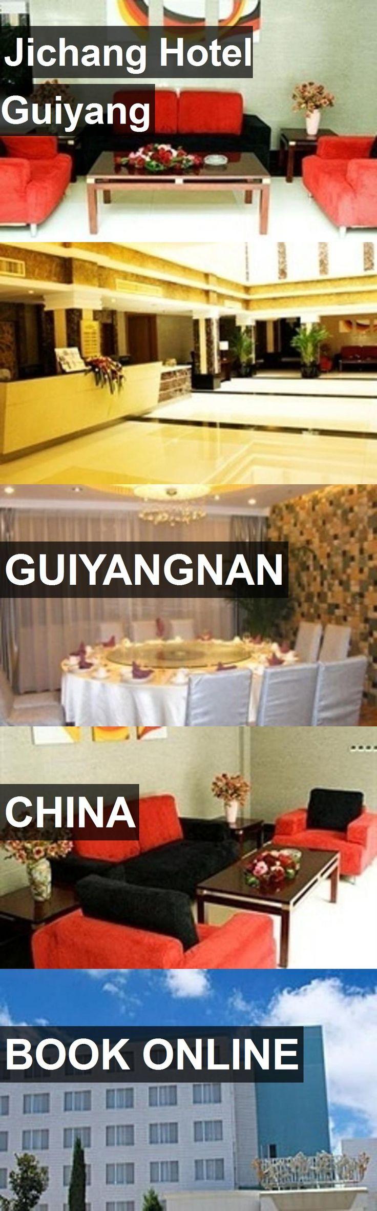 Jichang Hotel Guiyang in Guiyangnan, China. For more information, photos, reviews and best prices please follow the link. #China #Guiyangnan #travel #vacation #hotel