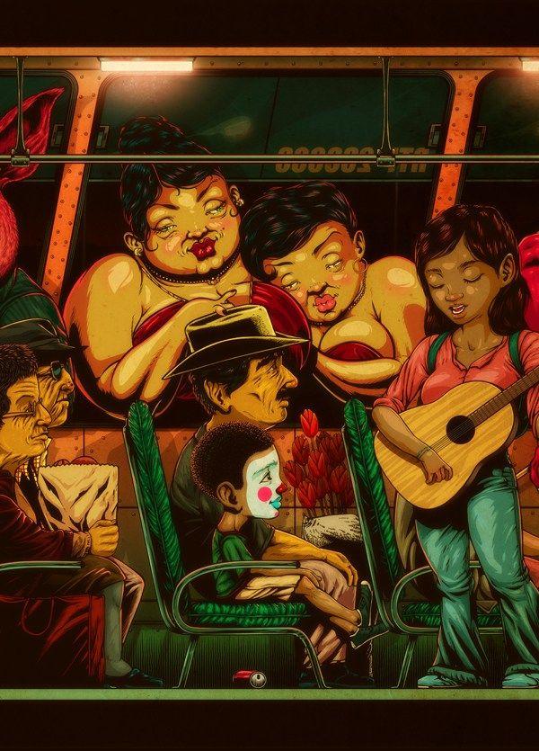 Los Ilustradores mexicanos le dan al Puro Machín