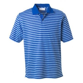 2048 #Ashworth Men's Dual Tone Pique Stripe Polo. Buy at wholesale price.