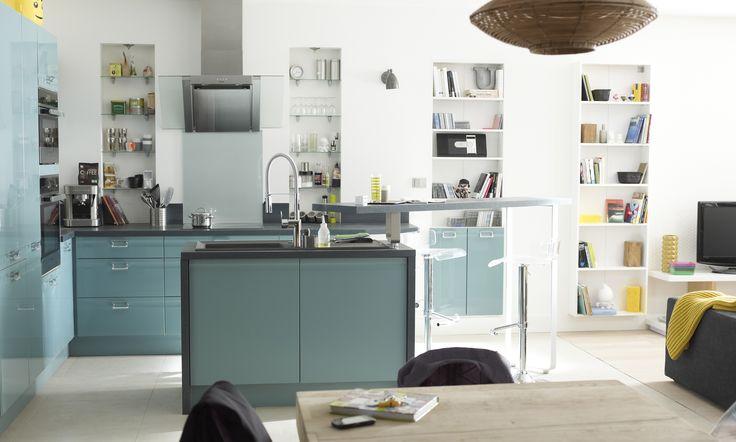 312 best cuisine images on pinterest - Modele cuisine equipee leroy merlin ...