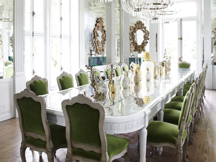 66 Best Extravagant Dining Rooms Images On Pinterest  Dinner Endearing Dining Rooms Reigate Decorating Design