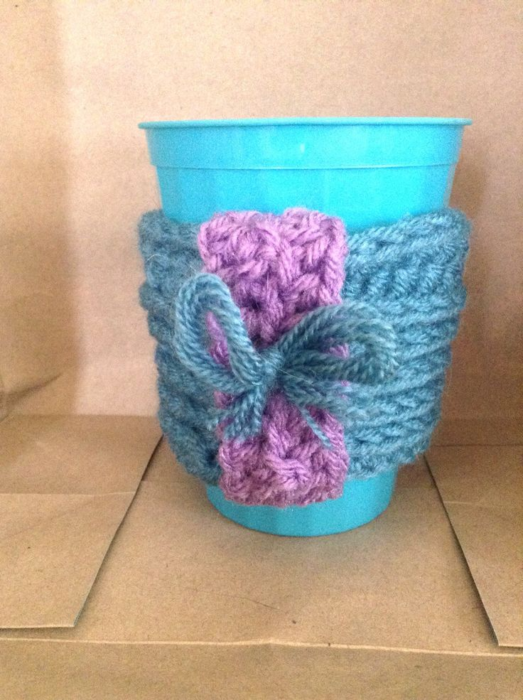 Cute feminine cup cozy to spice up your coffee mug  https://www.etsy.com/ca/listing/267465454/cute-cup-cozy-with-bow-detail