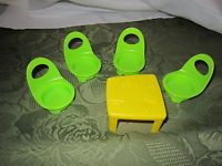 Fisher Price Little People Musical Preschool Table Chairs Replacement parts NEW