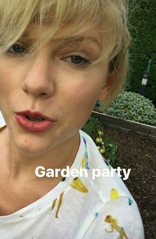 Garden Party... Taylor Swift style!!