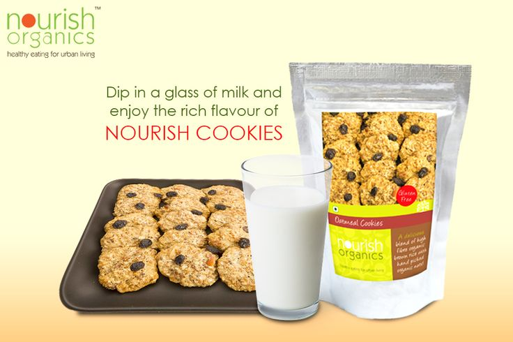 Oat meal cookies are made from Oatmeal generously sprinkled with organic nuts, seeds and coconut powder....http://bit.ly/1JU77DW