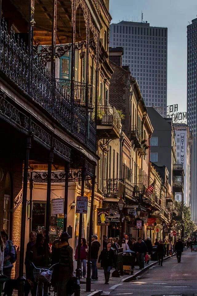 New Orleans, Royal Street. Looks like Roy Guste photography