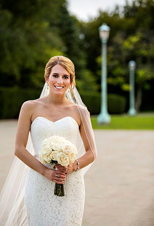 Lovely Amy Kuschel Cassidy gown from Something White A Bridal Boutique photo by Scott Shaw