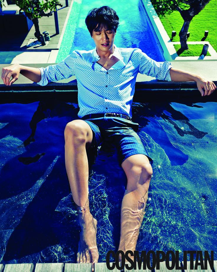 Kim Rae Won #Cosmopolitan #photoshoot Luna2 private hotel #Bali