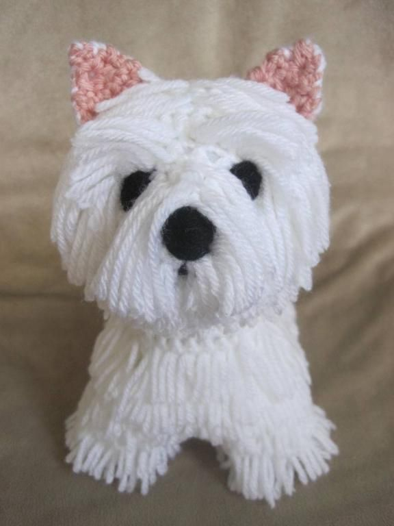(4) Name: 'Crocheting : Westie