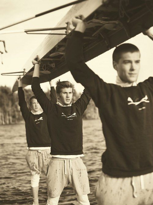 My son rowed crew for Rocket City Rowing. I love how so much in men's fashion has taken inspiration from the spirit of crew - classic and timeless.