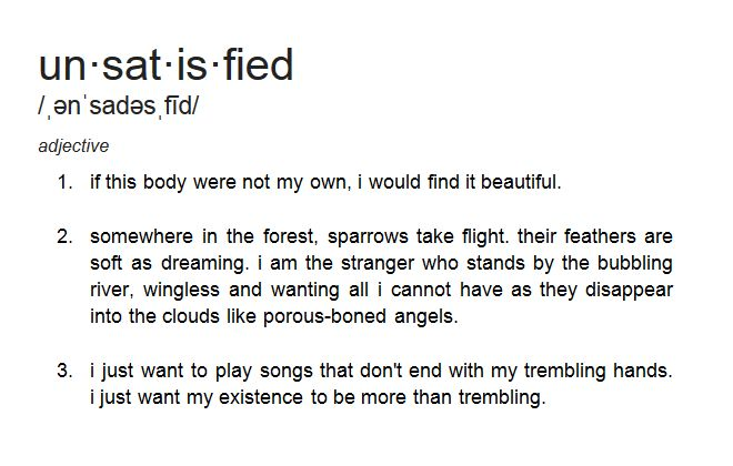 Normally I'm a bit iffy with some of these poems, but I really like this one. <3