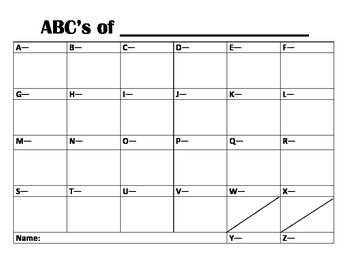 abc chart with pictures pdf
