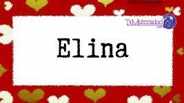 El nombre de niña Elina es de origen Griego y su significado es 'La aurora'.