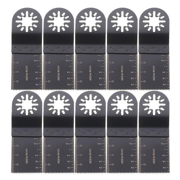 10pcs 35mm Oscillating Multitool Saw Blades For Fein Multimaster