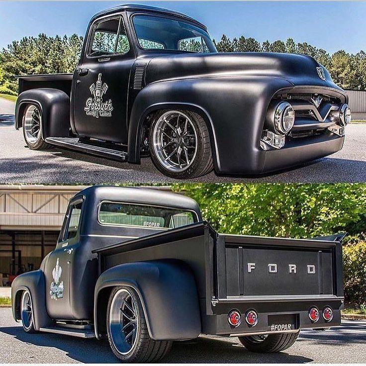 Einer unserer Lieblingsklassiker #Ford Trucks, der 55 # F100! __ Im Besitz von: Fors …