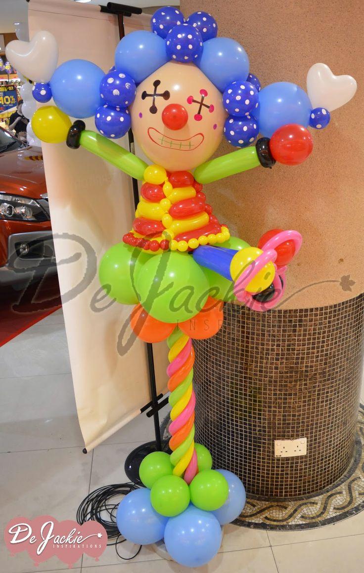 7 best Circus images on Pinterest Balloon decorations Balloon