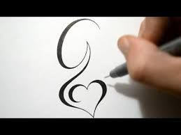 letter g tattoo design